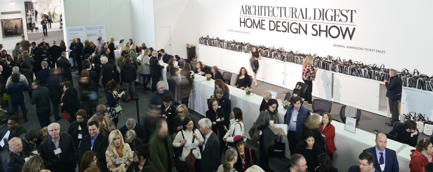 24 Feb Donu0027t Miss The Architectural Digest Design Show!