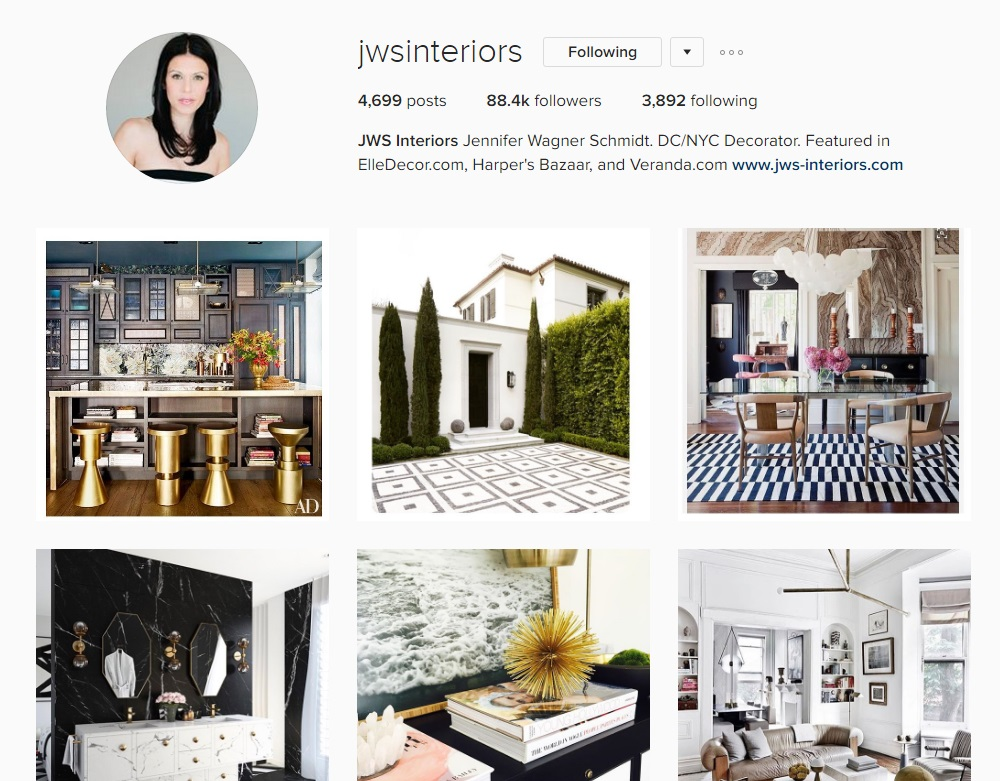 Instagram Inspiration Interiors Edition